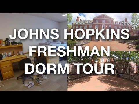 COLLEGE FRESHMAN DORM TOUR | JOHNS HOPKINS UNIVERSITY