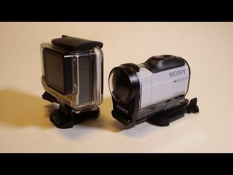 Экшн камера Sony HDR-AZ1