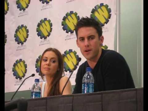Wizard World LA 2008 - HEROES Milo Ventimiglia & Robin Rumor