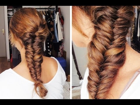 La tresse pi de bl fishtail braid youtube - Tresse epis de ble ...