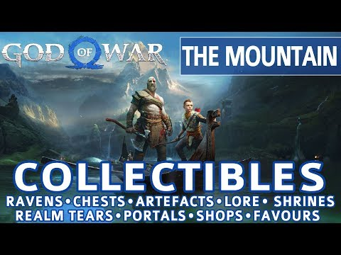 God of War - The Mountain All Collectible Locations (Ravens, Chests, Artefacts, Shrines) - 100%
