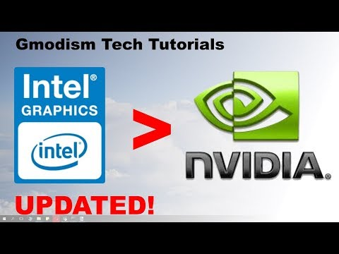 How to switch from Intel HD graphics to dedicated Nvidia graphics card [Working 2019]