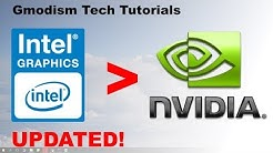 How to switch from Intel HD graphics to dedicated Nvidia graphics card - 2020 Working Tutorial