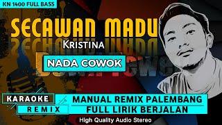 Download SECAWAN MADU_Nada Cowok    KARAOKE REMIX PALEMBANG