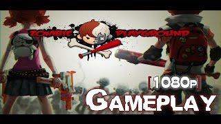Zombie Playground (1080p) Gameplay On PC!