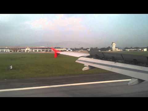 สนามบินนานาชาติแม่ฟ้าหลวง เชียงราย AIR ASIA LANDING สุวรรณภูมิ-เชียงราย