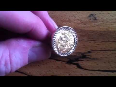 Finally bought a half sovereign gold ring