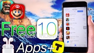 Free Paid Apps, in-App Purchases & AirPods GIVEAWAY! TopBuzz App Review - iOS 10 (NO Jailbreak)