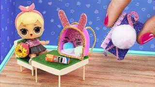 Школьные принадлежности для куклы ЛОЛ – 17 идей!
