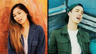 JUSTIN BIEBER - The Feeling (Cover by Leroy Sanchez & Jessica Sanchez)