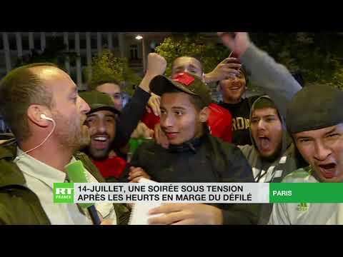 Victoire de l'Algérie en demi-finales de la CAN : ambiance festive sur les Champs Elysées