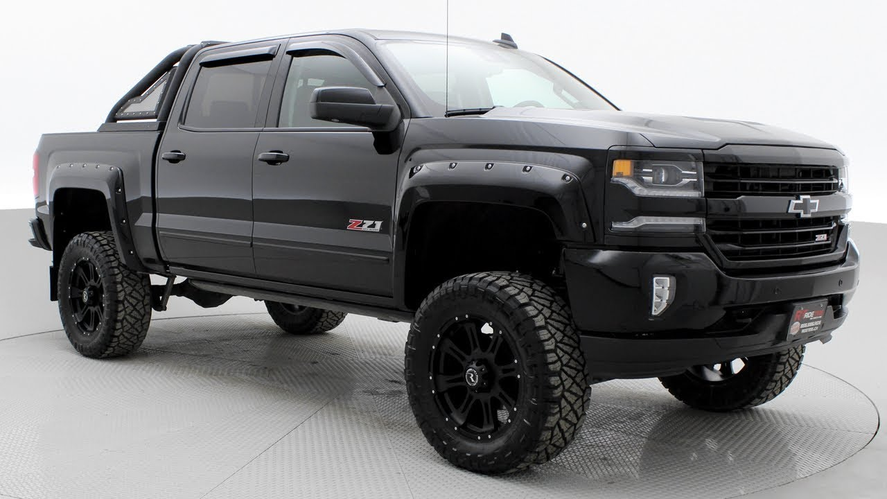 lifted 2017 chevy silverado 1500 ltz z71 6 2l v8 engine youtube. Black Bedroom Furniture Sets. Home Design Ideas