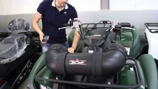 Тестируем акустику BOSS MARINE для квадроцикла   ATVPORTAL.RU