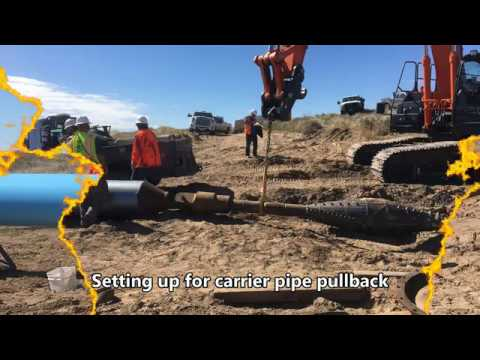 Crook Waterline Horizontal Direction Drilling (HDD) Installation - Crook, Colorado