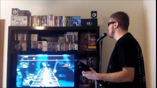 Enter Sandman no Guitar Hero - Metallica (Nintendo Wii)