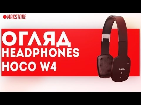 67f6be02967 HOCO.HEADPHONES.W4 TOUCH TYPE - YouTube