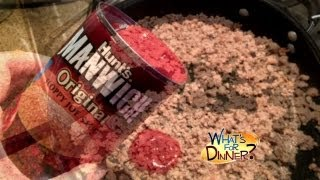 What's For Dinner? - Turkey Sloppy Joe Cornbread Bake