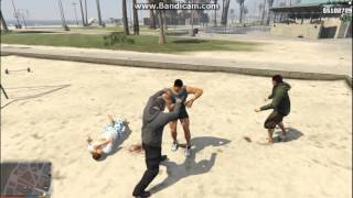 Grand Theft Auto V - Epic Boxing Gameplay