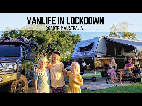 VAN LIFE IN LOCKDOWN | How we survive in our tiny home on wheels | Roadtrip Australia