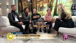 Bo Kaspers Orkester laddar för stor turné - Nyhetsmorgon (TV4)