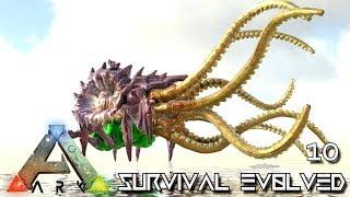 ark survival evolved kraken boss taming e10 modded ark pugnacia dinos