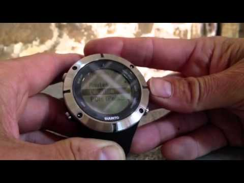 Suunto Ambit2 Gps Watch Quick Review And Summary Youtube