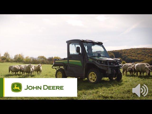 Pojazdy użytkowe John Deere - Cicha kabina