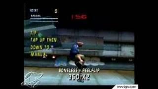 Tony Hawk's Pro Skater 2 Nintendo 64