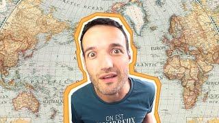 Astuce pour retenir les pays et les cartes de géographie !