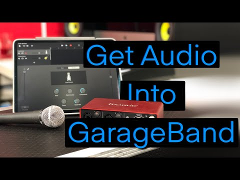 GarageBand Tutorial - Ep 3 - Recording Audio