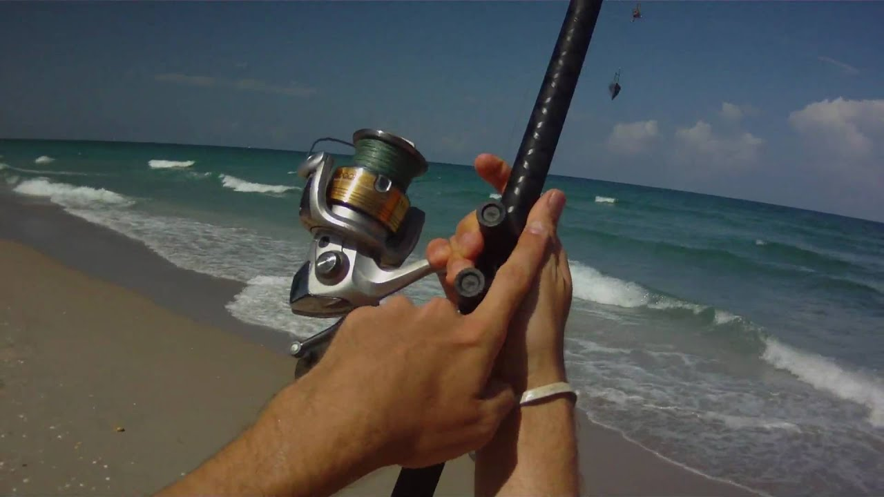 surf fishing - how to cast a surf rod - youtube, Reel Combo