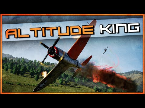 War Thunder RB Gameplay - P-47D-28 - How To Fly?