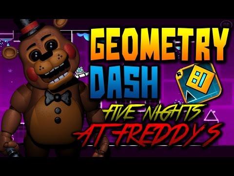 Geometry Dash l Five Nights at Freddy's