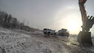-13C 1981  International s1900 dumptruck cold start