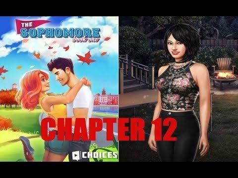 Alone Time with Kaitlyn | Choices: The Sophomore Book 1 Chapter 12 - Kaitlyn Diamond Scene