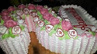 Торт-цифра 2.