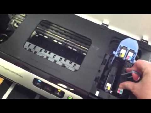 Remove Hp 940 Printheads Youtube