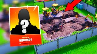 NEW DISCOVERY SKIN AND DIG EVENT IN FORTNITE! FORTNITE SEASON 8 NEW DIG EVENT AND DISCOVERY SKIN