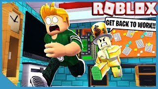 Roblox Escape The Office Obby With Gravycatman