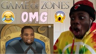 Game of Zones - S4:E1 'KD's Summer Odyssey' by Bleacher Report  REACTION!!!