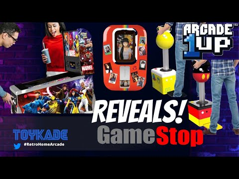 Arcade1UP - Marvel Pinball Pinball Pre-orders, Photo-booth, Giant Joystick and SF2 bundle! from ToyKade