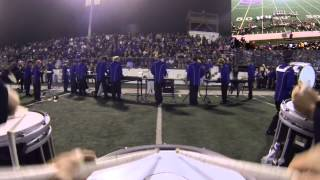 """Boogie Wonderland"" (Snare Drum POV) Salinas High School Marching Band"
