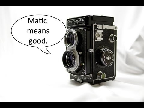 Introduction to the Ricoh Ricohmatic 225 Medium-format Twin Lens Reflex Camera