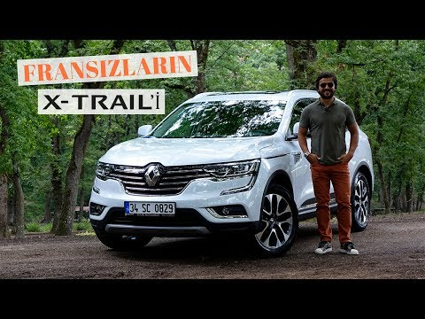 Renault Koleos Test Surusu