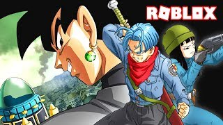 GO TO THE FUTURE OF TRUNKS! -DRAGON BALL Z FINAL Spanish STAND ROBLOX