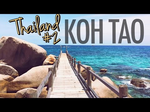 THAILAND VLOG #2 ♥ KOH TAO - First days in paradise