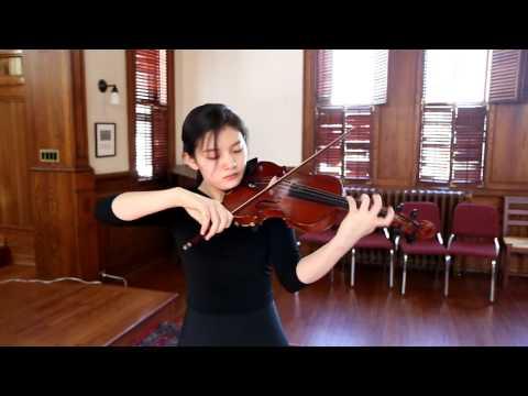 Mozart Violin Sonata No. 21, K.304 - Jennifer Jeon