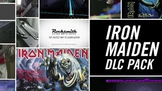 "Rocksmith 2014 Edition | ""Iron Maiden - DLC Pack"" Gameplay Trailer [EN]"
