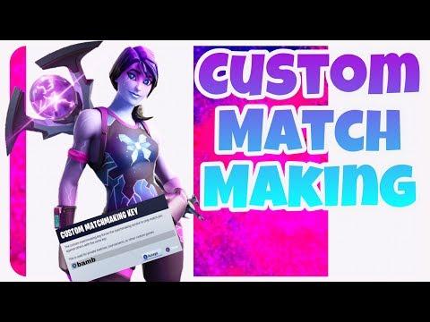 fortnite custom matchmaking servers