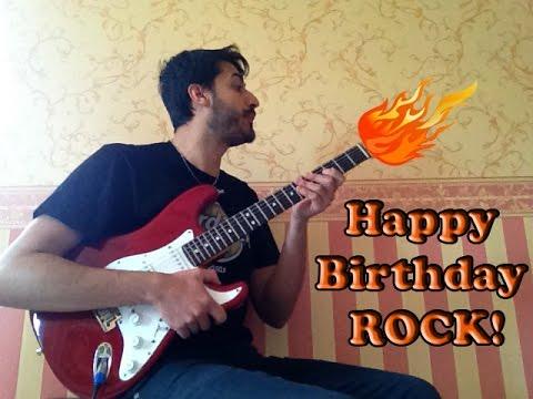 Happy Birthday song - [Rock Version]
